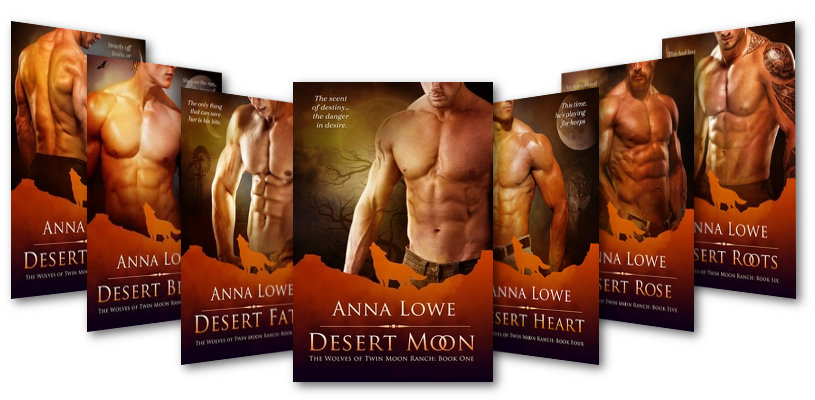 Cover Bilder der Twin Moon Ranch Serie